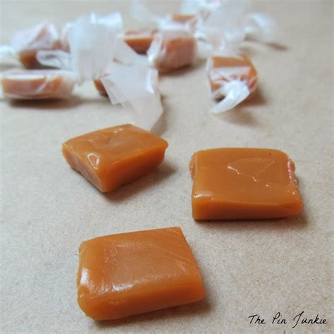 Handmade Caramels - fashioned caramels