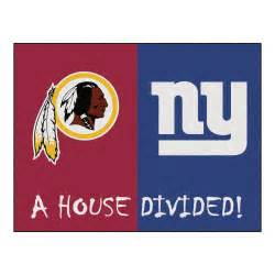 Nfl redskins giants house ided accent rug