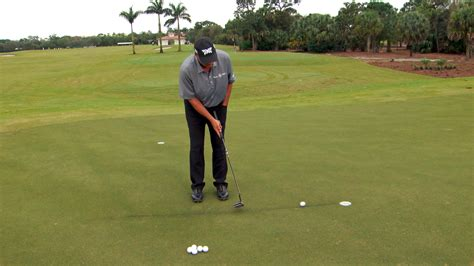 rocco mediate golf swing rocco mediate s chalk line putting tip golf channel