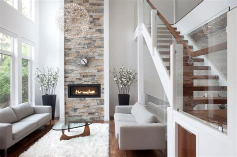 houzz modern living room rectangle contemporary living room calgary by