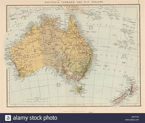 map showing australia and new zealand map showing australia tasmania new zealand and