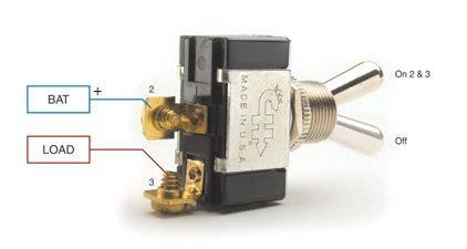 pole throw switch wiring 4 pole safety