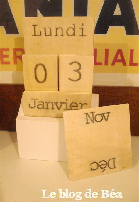 Fabriquer Un Calendrier Perpetuel Diy Fabriquez Un Calendrier Perp 233 Tuel Avec Des