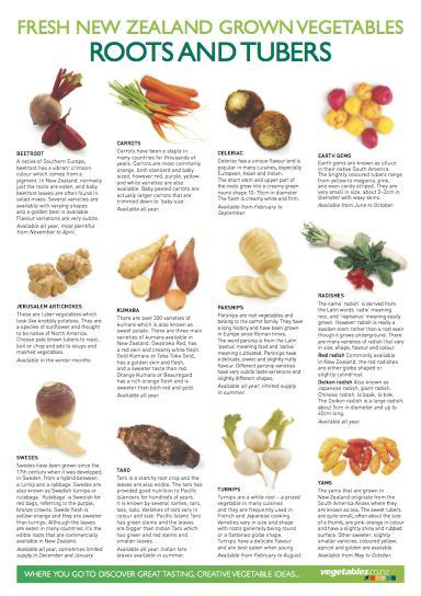 edible tubers list vegetables list chef and roots on