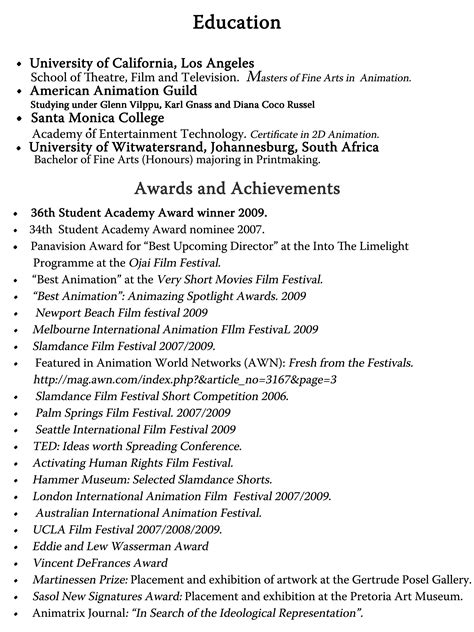 stunning key achievements in resume exles gallery