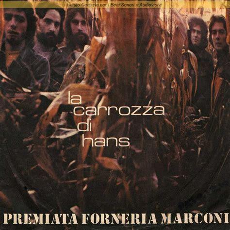 la carrozza di hans discografia nazionale della canzone italiana