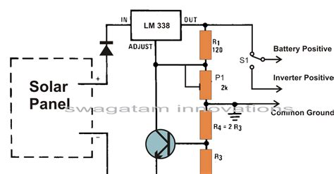 how to build a solar battery charger 12v build a solar panel voltage regulator charger circuit at