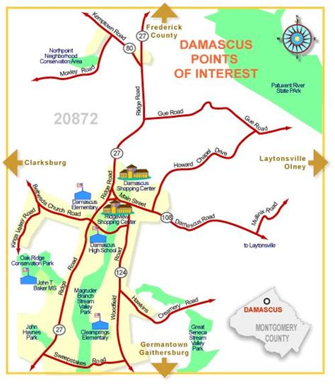 maryland real estate map about real estate in damascus montgomery county maryland