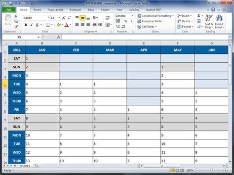 Microsoft Spreadsheet Software by Microsoft Excel
