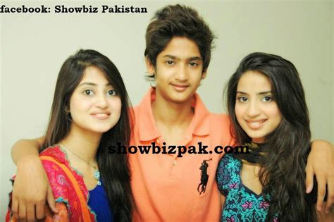 Sajal Ali Family | sajal ali with her family new pictures b g fashion
