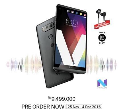 erafone lg v20 pre order lg v20 di indonesia resmi dibuka harganya
