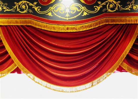 red stage curtain  stock photo public domain pictures