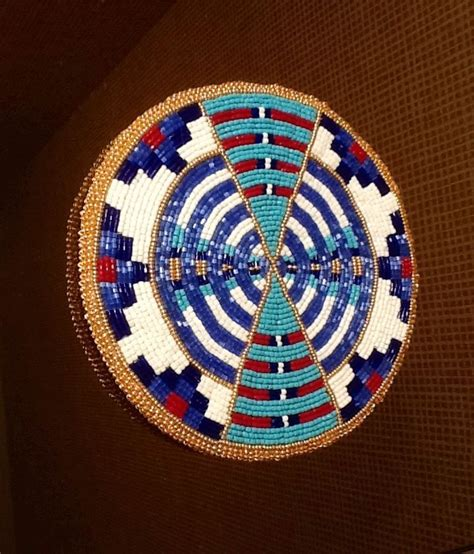 beaded medallions 218 best images about beadwork on oglala sioux