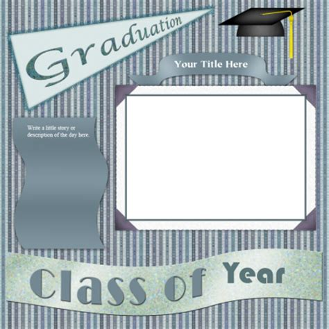 layout design for graduation graduation scrapbook layouts lovetoknow