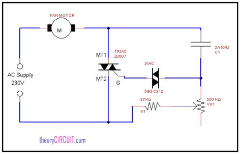 fan circuit diagram wiring diagram with description