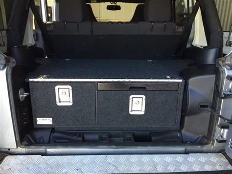 4 door jeep drawing jeep wrangler 4 door storage drawer package 1440