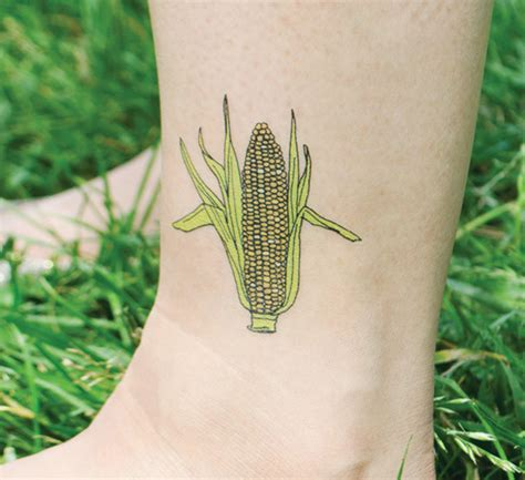 corn tattoo cutie