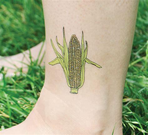 corn tattoo cutie