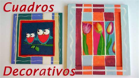 cuadros originales para decorar manualidades para decorar cuadros decorativos con