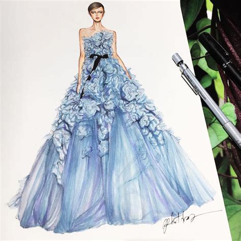 Dress Eris gown designs by eris showcase fashion illustrators skill