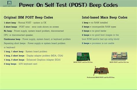 self testo pc power on self test post custom build computers