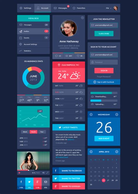 design mobile application ui 20 mobile user interface design for your inspiration