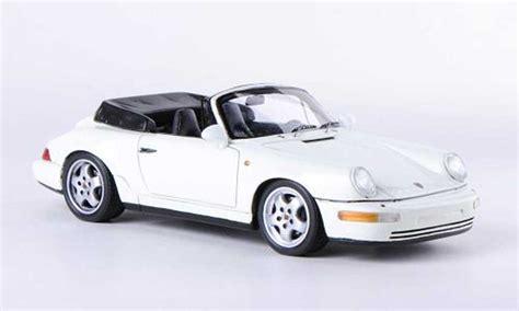 porsche 964 white porsche 964 cabriolet 2 white 1991 spark diecast