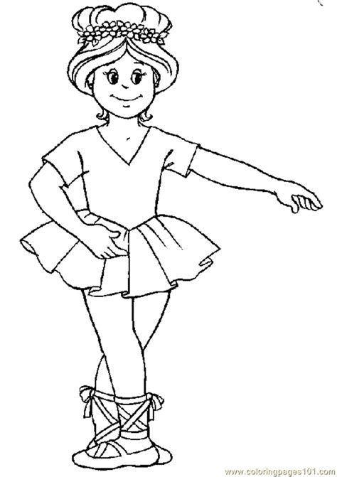 dance coloring pages free printable ballet coloring page 20