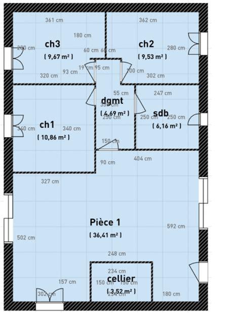 Plan Maison Plein Pied 80m2 plan plain pied 80m2 locatif pmr 17 messages