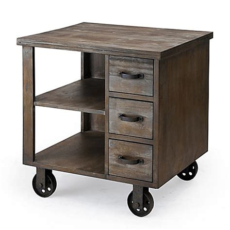 madison park afton industrial desk madison park cirque end table bed bath beyond