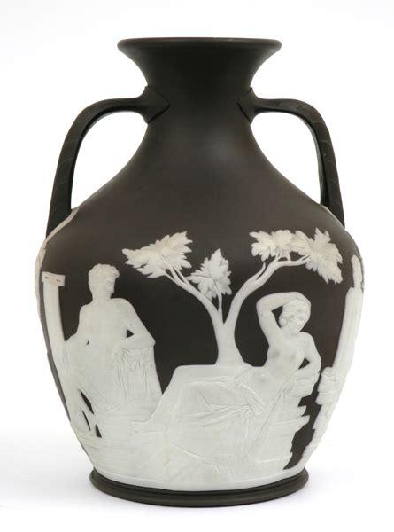 wedgwood black basalt jasperware portland vase of