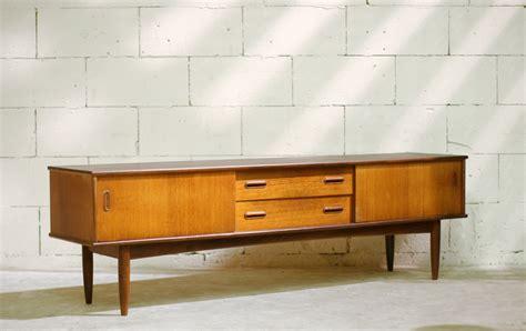 lade etro gaaf retro vintage lang dressoir op pootjes jaren 50 60