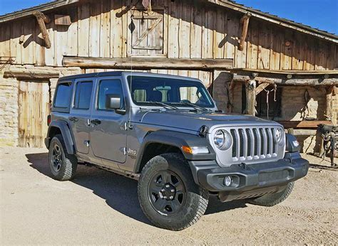 cheapest jeep wrangler model 2018 jeep wrangler jl sport cheapest way in but still