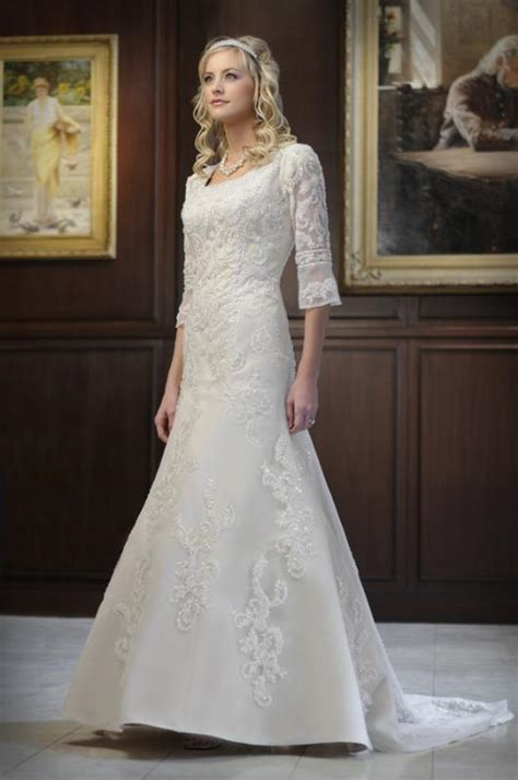 Modest Wedding Dresses by Dressybridal Modest Wedding Gowns Style To Be