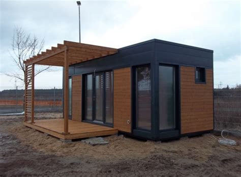 bungalow de jardin prince bungalow de jardin ossature bois sur ch 226 ssis acier 21 m 178 avec terrasse pergola 10 m 178