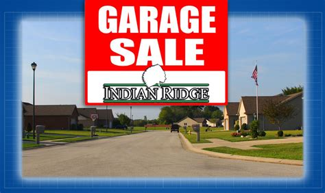Park Ridge Garage Sale by Get Ready For The Indian Ridge Garage Sale Indian Ridge