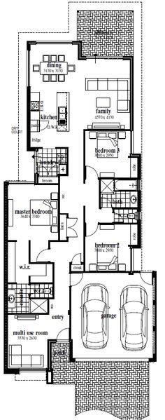 narrow block house designs brisbane 1000 images about narrow block plans on pinterest case study design floor plans