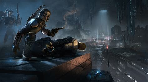 star wars star wars 1313 concept art gives us new glimpse of boba