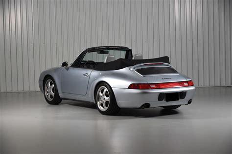 1995 porsche 911 cabriolet 1995 porsche 911 993 polar silver cabriolet