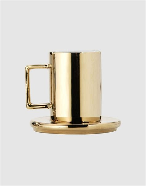 gold coffee mug gold coffee cup product design pinterest