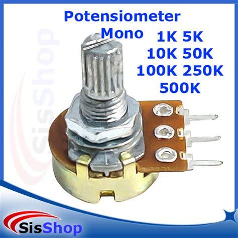 jual potensiometer mono linear potensio meter variable