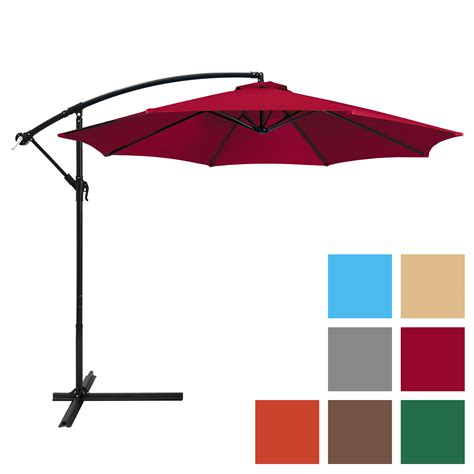 Umbrella For Patio - best choice products 10ft offset hanging outdoor market