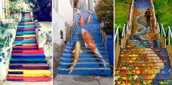 Stairs Artist by 17 Of The Most Beautiful Steps Around The World Bored Panda