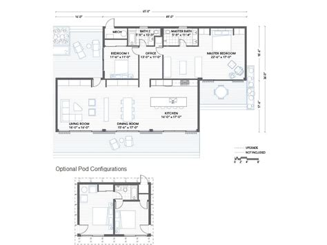 prefab floor plans blu homes glidehouse prefab home floor plan