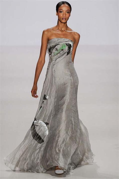 Catwalk To Carpet Menounos In Pamella Roland by New York Fashion Week 2015 Rtw Pamella Roland