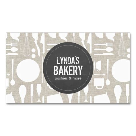 kitchen collage with rustic gray logo bakery