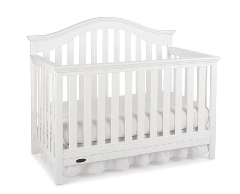 White Graco Convertible Crib Graco Graco Bryson 4 In 1 Convertible Crib White Baby Baby Furniture Cribs