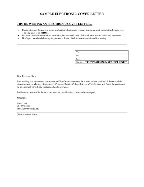sle of simple cover letter for application cover letter exle resume badak