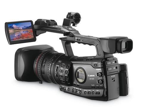 and camcorder canon xf305 and xf300 professional hd camcorders