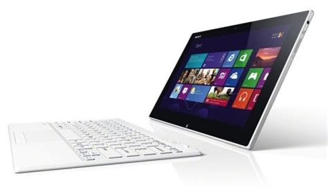 Sony Vaio Tablet Pc Windows 8 sony vaio tap 11 is a windows 8 tablet features pen input